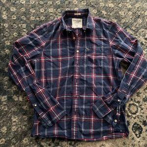 Like new Abercrombie ( muscle ) Flannel